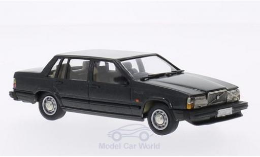 Volvo 740 1/43 Brooklin GL metallic-dunkelgrise 1987 miniature