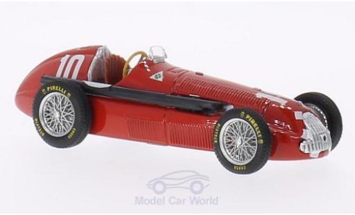 Alfa Romeo 158 1/43 Brumm No.10 Scuderia Quadrifoglio GP Italien 1950 N.Farina miniatura