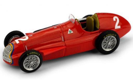 Alfa Romeo 159 1/43 Brumm No.2 Formel 1 GP Belgien 1951 J.M.Fangio miniature