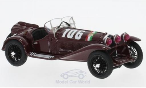 Alfa Romeo 2300 1/43 Brumm No.106 Mille Miglia 1932 B.Boracchini/A.Bignami miniatura
