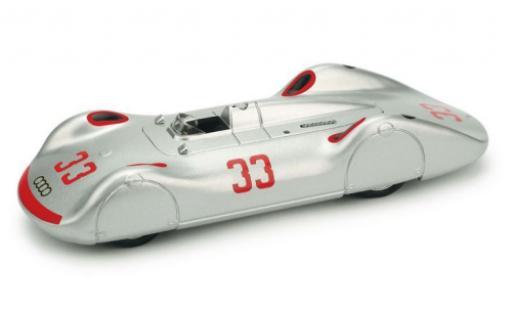 Auto Union Typ C 1/43 Brumm Stromlinie No.33 Avus 1937 L.Fagioli diecast model cars