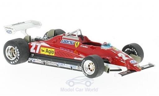 Ferrari 126 1/43 Brumm C2 turbo No.27 Formel 1 GP Italien 1982 P.Tambay miniature