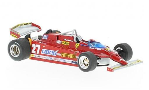 Ferrari 126 1/43 Brumm CX comprex No.27 Formel 1 GP USA 1981 G.Villeneuve diecast model cars