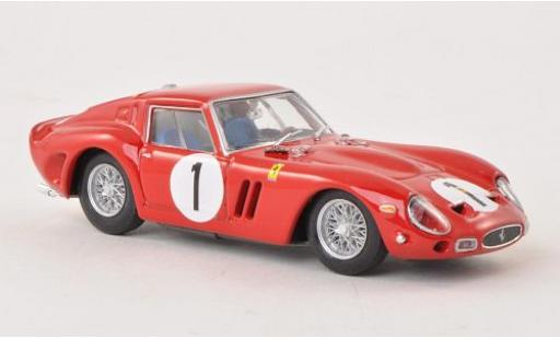 Ferrari 250 1/43 Brumm GTO No.1 1000km Paris 1962 châssis 3987GT P.Rodriguez/R.Rodriguez miniature