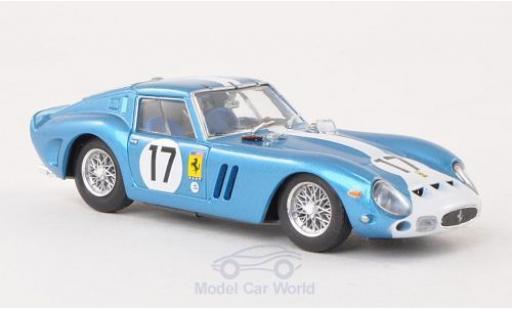 Ferrari 250 1/43 Brumm GTO No.17 Scuderia N.A.R.T. 24h Le Mans 1962 Chassis 3387GT miniature