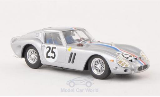 Ferrari 250 1/43 Brumm GTO No.25 National-Team Belgium 24h Le Mans 1963 Chassis 4153GT diecast model cars