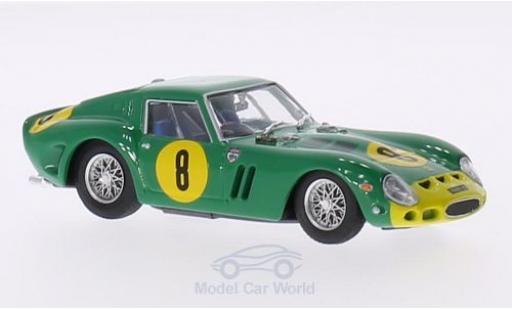 Ferrari 250 P 1/43 Brumm GTO RHD No.8 GP Angola 1962 Chassis 3767GT D.Piper miniature