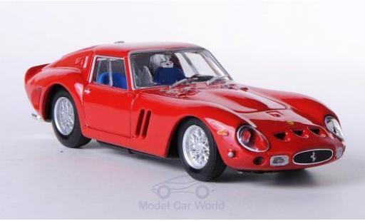 Ferrari 250 1/43 Brumm GTO rouge 1962 ohne Vitrine miniature