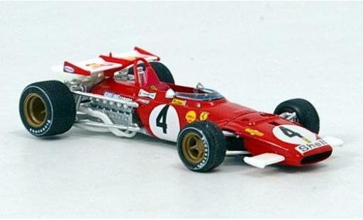 Ferrari 312 1/43 Brumm B No.4 Formel 1 GP Italien 1970 C.Regazzoni coche miniatura