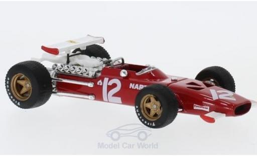 Ferrari 312 P 1/43 Brumm F1 No.12 Formel 1 GP Mexiko 1969 P.Rodriguez miniature