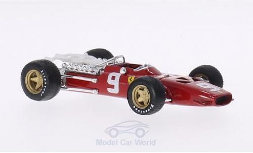 Ferrari 312 1/43 Brumm F1 No.9 Suderia Formel 1 GB Niederlande 1968 C.Amon miniature