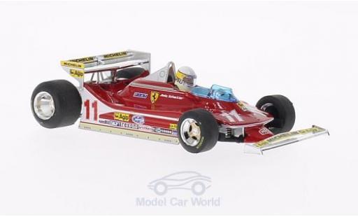 Ferrari 312 T4 1/43 Brumm T4 No.11 GP Monaco 1979 J.Scheckter miniature
