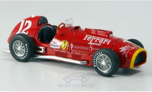 Ferrari 375 1/43 Brumm No.12 Indianapolis 1952 A.Ascari miniature