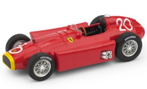 Ferrari D50 1/43 Brumm No.20 Formel 1 GP Monte Carlo 1956 J.M.Fangio miniature