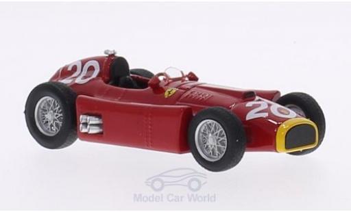 Ferrari D50 1/43 Brumm No.20 GP Monte Carlo 1956 J.M.Fangio miniature