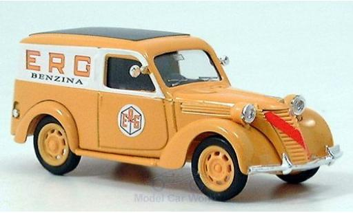 Fiat 1100 1/43 Brumm Fourgone ERG diecast model cars