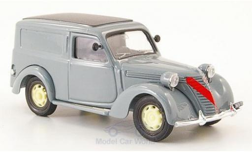 Fiat 1100 1947 1/43 Brumm Furgone grey diecast model cars