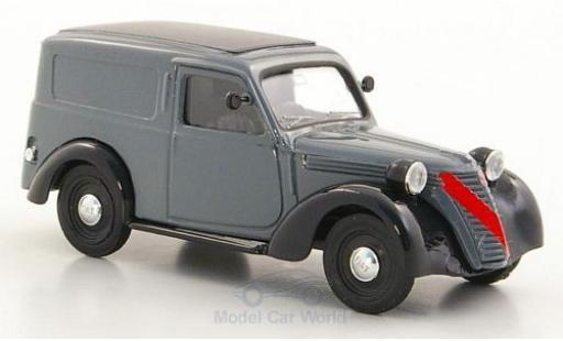 Fiat 1100 1947 1/43 Brumm Furgone grey/black diecast model cars