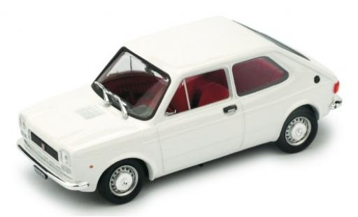Fiat 127 1/43 Brumm (1.Serie) white 1972 diecast model cars