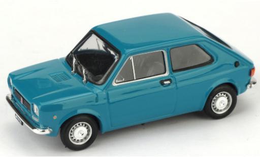 Fiat 127 1/43 Brumm (1a Serie) blue 1971 diecast model cars