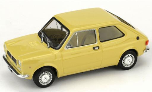 Fiat 127 1/43 Brumm (1a Serie) beige 1971 diecast model cars