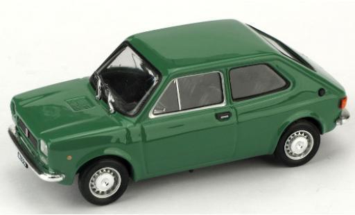 Fiat 127 1/43 Brumm (1a Serie) green 1971 diecast model cars