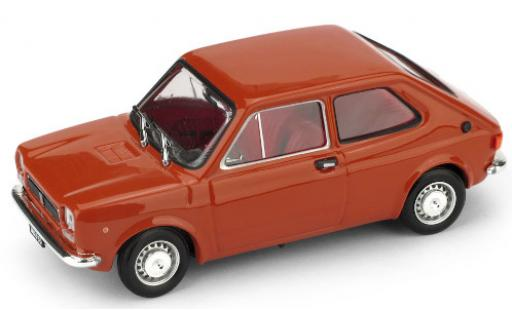 Fiat 127 1/43 Brumm (1a serie) red 1971 diecast model cars