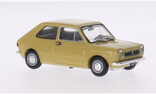 Fiat 127 1/43 Brumm yellow 1972 2-portes diecast model cars
