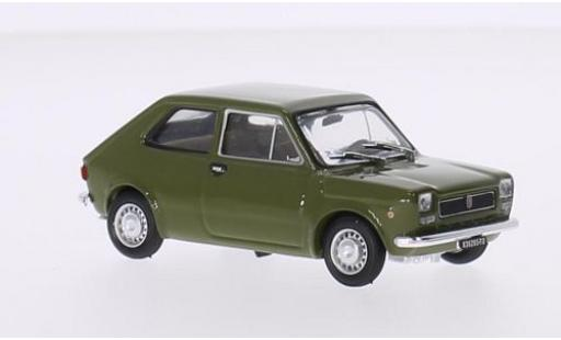 Fiat 127 1/43 Brumm green 1972 2-portes diecast model cars
