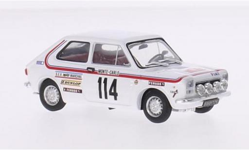 Fiat 127 1/43 Brumm No.114 Rallye Monte-Carlo 1973 B.Dongues/C.Saulie diecast model cars