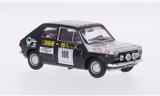 Fiat 127 1/43 Brumm No.166 Despar Rally San Martino di Castrozza 1976 V.Caneva coche miniatura