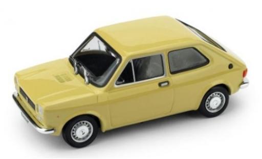 Fiat 127 1/43 Brumm (Serie 1) beige 1971 coche miniatura