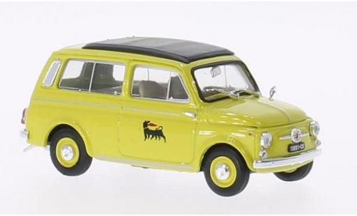 Fiat 500 1/43 Brumm Giardiniera Agip 1960 coche miniatura