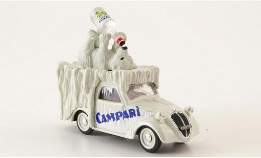 Fiat 500 1/43 Brumm B Furgoncino Campari 1950 avec figurine sans Vitrine diecast model cars