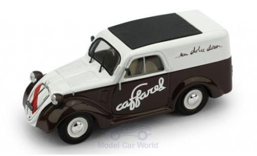 Fiat 500 1/43 Brumm B Furgone Caffarel Chocolate 1950 diecast model cars