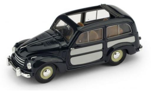 Fiat 500 1/43 Brumm C Belvedere azul/gris 1951 coche miniatura