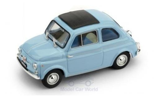 Fiat 500 1/43 Brumm D blue 1962 diecast model cars