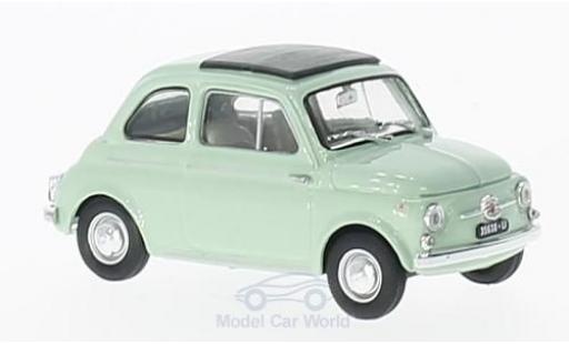 Fiat 500 1/43 Brumm D green 1960 diecast model cars