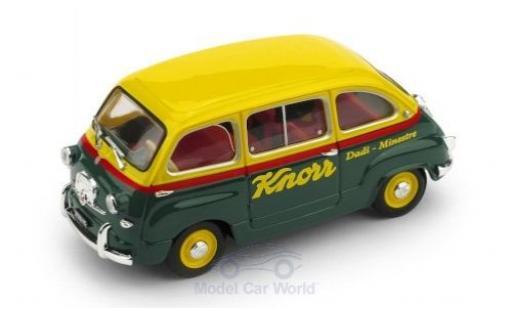 Fiat 600 1/43 Brumm Multipla Knorr 1956 miniature