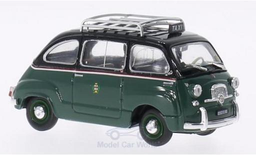 Fiat 600 1/43 Brumm D Multipla 1960 Taxi di Milano diecast model cars