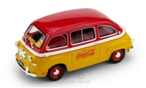 Fiat 600 1/43 Brumm D Multipla Coca Cola 1960 Olympiade Rom coche miniatura