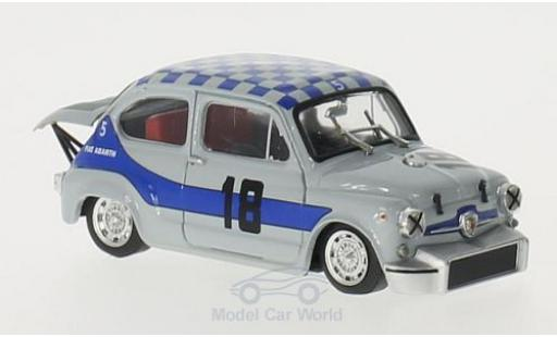 Fiat Abarth 1000 1/43 Brumm Berlina Corsa Gr.5 No.18 4h Monza 1968 A.Merzario miniature
