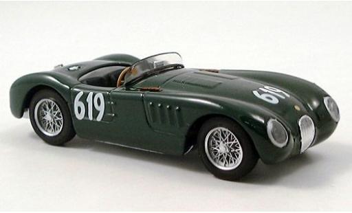 Jaguar C-Type 1/43 Brumm RHD No.619 Mille Miglia 1952 Moss Collection S.Moss diecast model cars
