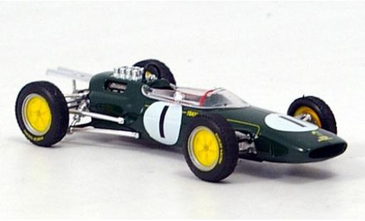 Lotus 25 1/43 Brumm No.1 Team Formel 1 GP Belgien 1963 J.Clark diecast model cars