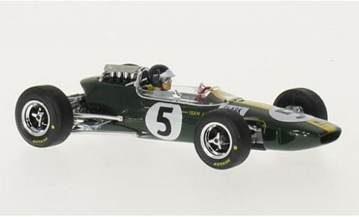 Lotus 33 1/43 Brumm No.5 Formel 1 GP England 1965 J.Clark diecast model cars