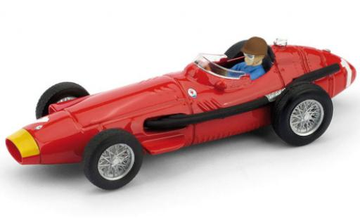 Maserati 250 1/43 Brumm F No.1 Formel 1 GP Deutschland 1957 avec figurine de conducteur J.M.Fangio miniature