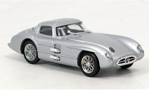 Mercedes 300 1/43 Brumm SLR Coupe grey 1955 diecast model cars