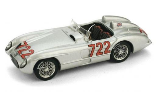 Mercedes 300 1/43 Brumm SLR No.722 Mille Miglia 1955 S.Moss/D.Jenkinson diecast model cars