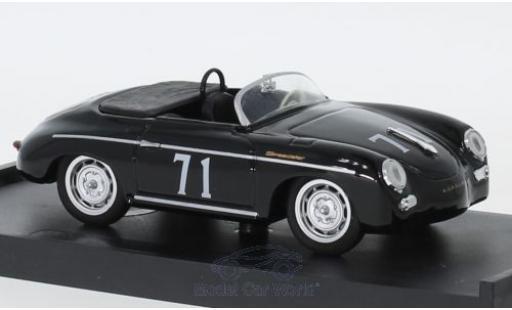 Porsche 356 1/43 Brumm Speedster No.71 Riverside 1959 S.McQueen miniatura