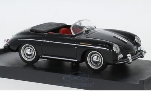 Porsche 356 1/43 Brumm Speedster nero 1952 miniatura